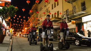 Night Chinatown Segway Group Tour